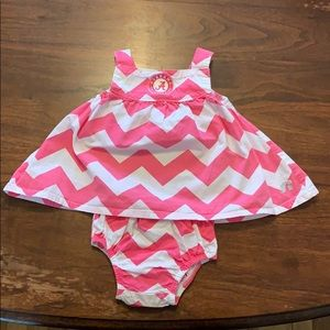 Alabama Crimson Tide Baby Two Piece 3-6 Months